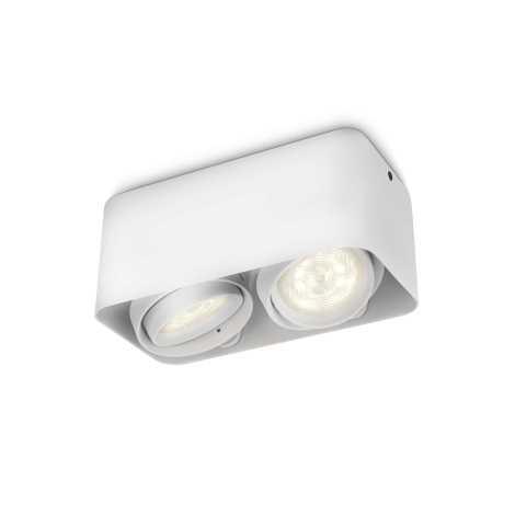 Philips 53202/31/16 - LED bodové svietidlo AFZELIA 2xLED/3W/230V