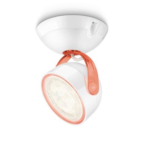 Philips 53230/32/16 - LED Bodové svietidlo MYLIVING DYNA 1xLED/3W/230V červená