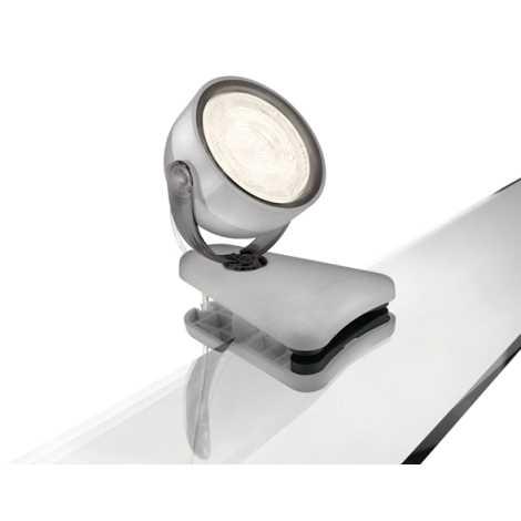 Philips 53231/99/16 - LED Klip MYLIVING DYNA 1xLED/4W/230V šedá