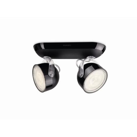 Philips 53232/30/16 - LED bodové svietidlo DYNA 2xLED/3W/230V