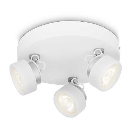 Philips 53279/31/16 - LED bodové svietidlo RIMUS 3xLED/3W/230V