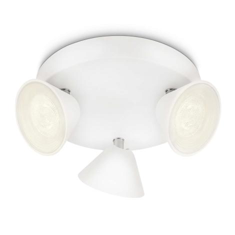 Philips 53289/31/16 - LED bodové svietidlo TWEED 3xLED/3W/230V
