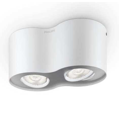 Philips 53302/31/16 - LED bodové svietidlo PHASE 2xLED/4,5W/230V