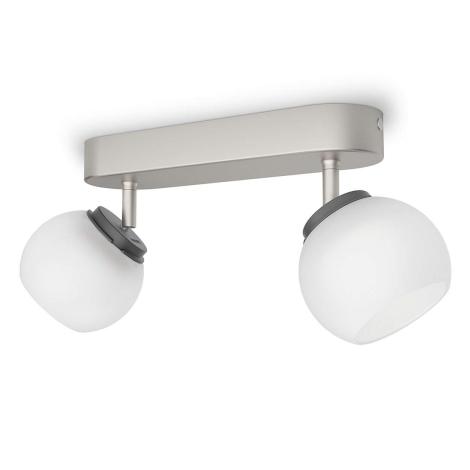 Philips 53322/17/16 - LED bodové svietidlo BALLA 2xLED/4W/230V