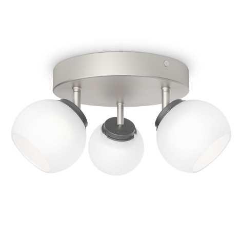 Philips 53323/17/16 - LED bodové svietidlo BALLA 3xLED/4W/230V