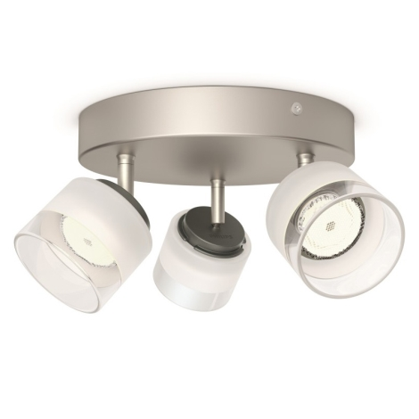 Philips 53333/17/16 - LED bodové svietidlo FREMONT 3xLED/4W/230V