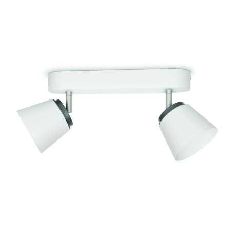 Philips 53342/31/16 - LED bodové svietidlo DENDER 2xLED/4W/230V