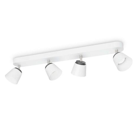 Philips 53344/31/16 - LED bodové svietidlo DENDER 4xLED/4W/230V