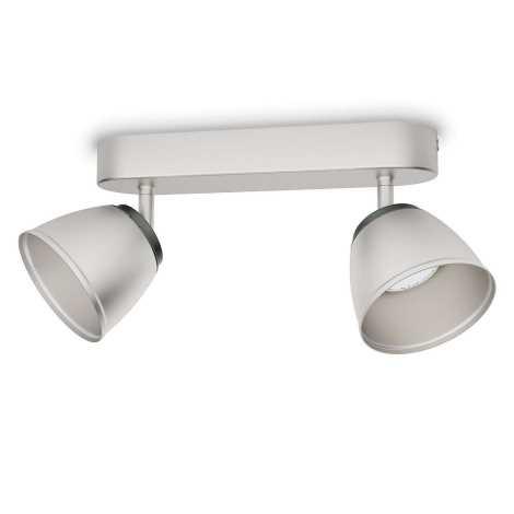 Philips 53352/17/16 - LED bodové svietidlo COUNTY 2xLED/4W/230V
