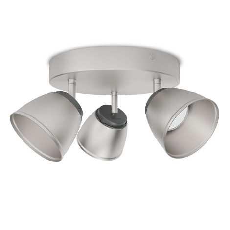 Philips 53353/17/16 - LED bodové svietidlo COUNTY 3xLED/4W/230V