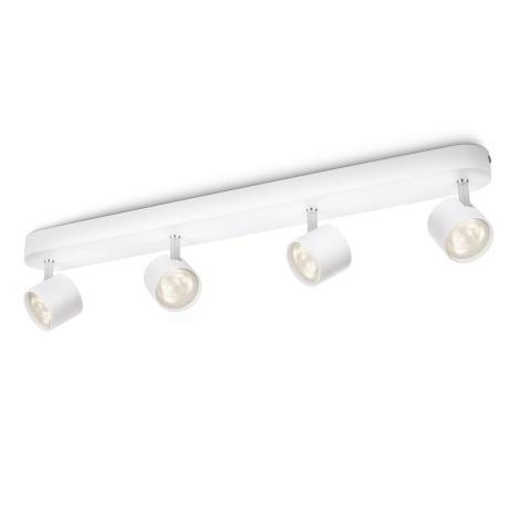 Philips 56244/31/16 - LED bodové svietidlo STAR 4xLED/3W/230V