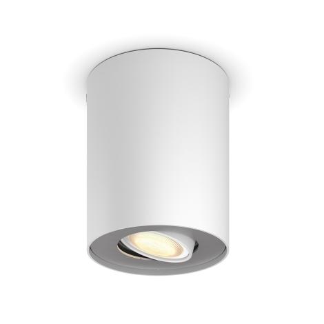 Philips 56330/31/P8 - LED Stmievateľné bodové svietidlo PILLAR HUE 1xGU10/5,5W/230V