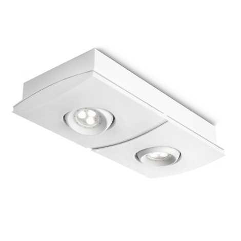 Philips 56402/31/13 - LED Stmievateľné bodové svietidlo INSTYLE ELGAR 2xLED/7,5W/230V