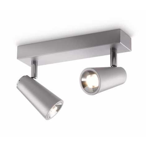Philips 56462/48/16 - LED bodové svietidlo DELTYS 2xLED/5W/230V
