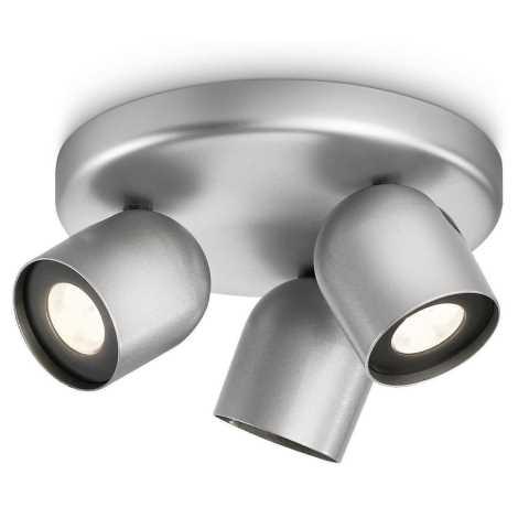 Philips 56493/48/16 - Bodové LED svietidlo MYLIVING ZESTA 3xLED/6W/230V