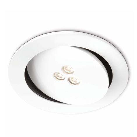 Philips 57962/31/16 - LED kúpeľňové podhľadové svietidlo SCULPTOR 1xLED/6W/230V