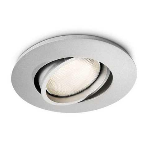 Philips 57977/48/16 - Kúpeľňové podhľadové svietidlo MYLIVING SEGIN 1xGU10/10W/230V