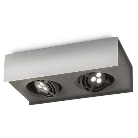 Philips 57985/48/16 - LED Bodové svietidlo INSTYLE RADAR 2xLED/7,5W/230V