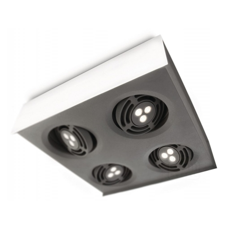 Philips 57986/31/16 - LED Stropné svietidlo INSTYLE RADAR 4xLED/6W/230V