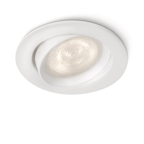 Philips 59031/31/16 - LED Bodové zapustené svietidlo MYLIVING ELLIPSE 1xLED/4W/230V biela