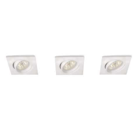 Philips 59080/31/16 - SADA 3x LED podhľadové svietidlo MYLIVING GALILEO 1xLED/3W/230V