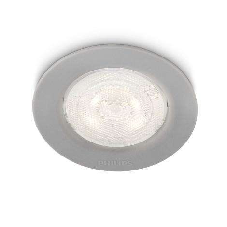 Philips 59101/87/16 - LED podhľadové svietidlo SCEPTRUM 1xLED/3W/230V