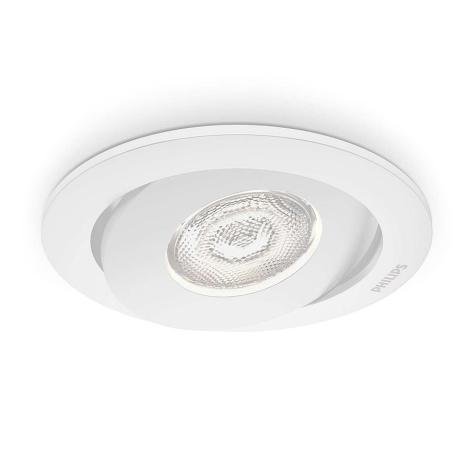Philips 59180/31/16 - LED podhľadové svietidlo ASTEROPE 1xLED/4,5W/230V