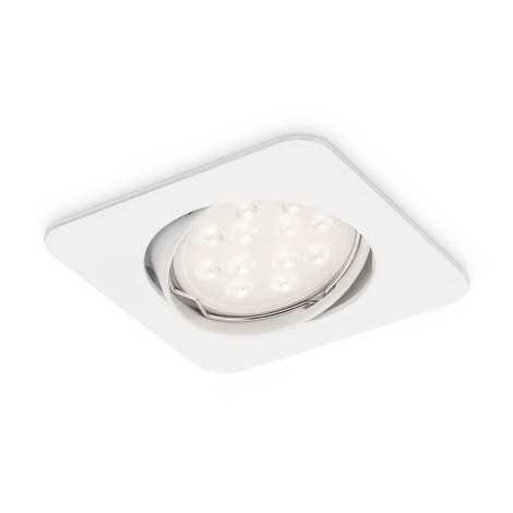 Philips 59680/31/16 - LED kúpeľňové podhľadové svietidlo MYLIVING ALCOR 1xGU10/3,5W/230V