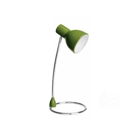 Philips 67204/33/16 - Stolná lampa SONG zelená 1xE27/15W/230V