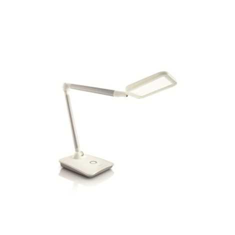 Philips 67426/31/16 - Stolná LED lampa ROBOT biela 1xHighPower LED/10W/230V