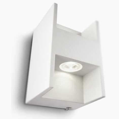 Philips 69087/31/16 - Nástenné svietidlo s vypínačom LEDINO LED/2,5W/230V