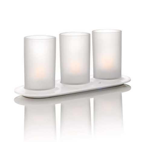 Philips 69185/60/PH - SADA 3x LED sviečka NATURELLE 3xLED/0,5W/230V