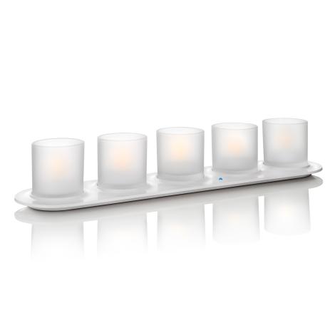 Philips 69188/60/PH - 5xSADA LED sviečka CANDLELIGHTS 5xLED/0,5W