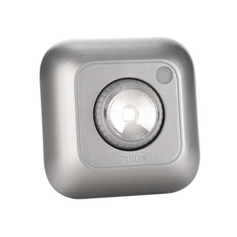 Philips 69191/14/PH - LED orientačné svietidlo SPOTON 360 1xLED/0,5W/3xAAA