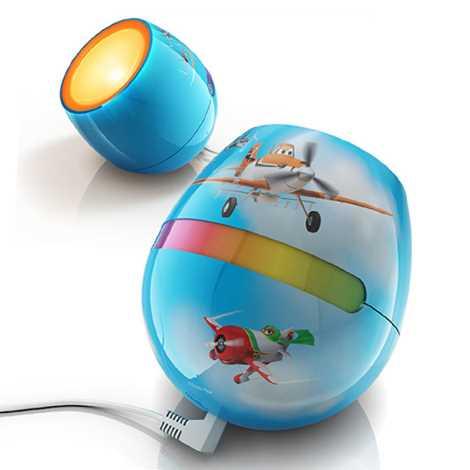 Philips 71704/53/26 - LED detská lampa LIVINGCOLORS MICRO DISNEY PLANES LED-SMD/4,7W/230V