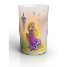 Philips 71711/03/16 - LED Stolná lampa CANDLES DISNEY RAPUNZEL 0,125W LED