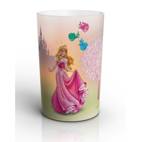 Philips 71711/25/16 - LED Stolová lampa CANDLES DISNEY SLEEPING BEAUTY 1,5 W LED
