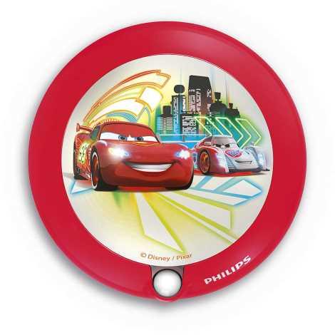Philips 71765/32/16 - LED Detské svietidlo so senzorom DISNEY CARS 1xLED/0,06W/2xAAA
