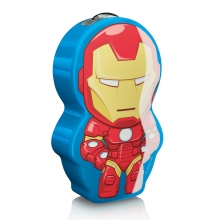 Philips 71767/35/16 - LED Detská baterka DISNEY IRON MAN 1xLED/0,3W/2xAAA