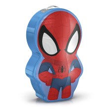 Philips 71767/40/16 - LED Detská baterka MARVEL SPIDER-MAN 1xLED/0,3W/2xAAA