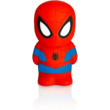 Philips 71768/40/16 - LED detská lampa DISNEY SPIDER-MAN 2xLED/0,2W/2xAAA