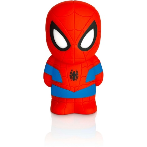 Philips 71768/40/16 - LED Detská lampa MARVEL SPIDER-MAN 1xLED/0,2W/3V