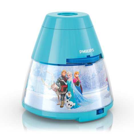 Philips 71769/08/16 - Detský projektor DISNEY FROZEN LED/0,1W/3xAA