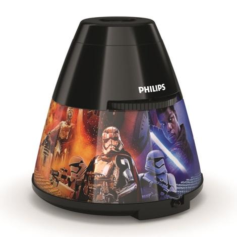 Philips 71769/30/P0 - LED detský projektor DISNEY STAR WARS LED/0,1W/3xAA