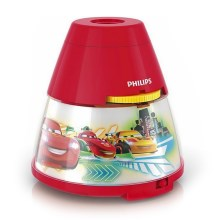 Philips 71769/32/16 - LED Detský projektor DISNEY CARS LED/0,1W/3xAA