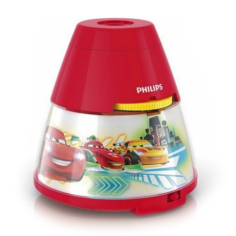Philips 71769/32/16 - LED Detský projektor DISNEY CARS LED/0,1W/3xAA