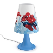 Philips 71795/40/16 - LED Detská stolná lampa MARVEL SPIDER MAN LED/2,3W/230V