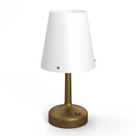 Philips 71796/06/P0 - Prenosná stolná lampa MYLIVING LED/0,6W/3xAA