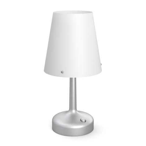 Philips 71796/48/P0 - Prenosná stolná lampa MYLIVING LED/0,6W/3xAA