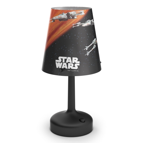 Philips 71888/30/16 - Detská stolná lampa STAR WARS SPACESHIPS 1xLED/0,57W/3xAA